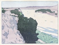 california 1--salinas river by frank morley fletcher
