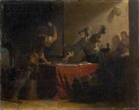 les joueurs by alexandre-évariste fragonard