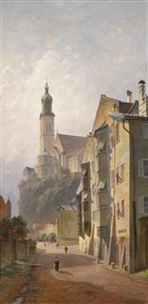 motiv aus hall (tirol) by j. heilinger