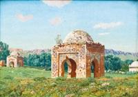 tombeaux des anciens rois de tlemcen by gabriel-charles deneux