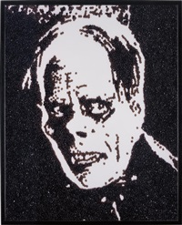 phantom of the opera (from caviar monsters) by vik muniz