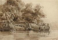 rivière de guayaquil by theodore-auguste (admiral) fisquet