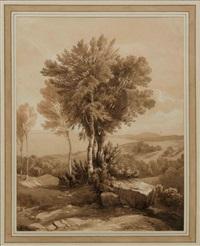 étude d'arbres by alexandre calame