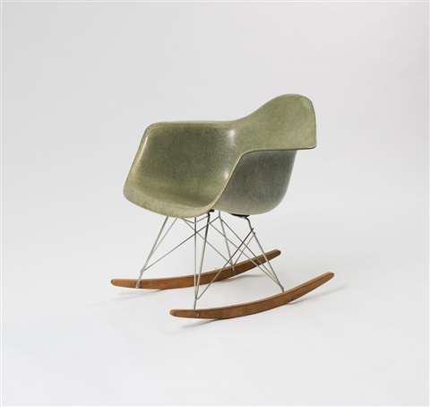 Gut Schaukelstuhl Rar By Charles Eames