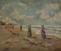 strandspaziergang by albert rigaux
