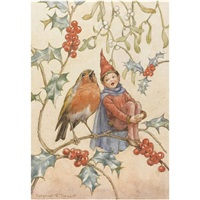 christmas duet (+ little friend; 2 works) by margaret winifred tarrant