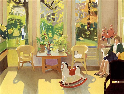 october interior by fairfield porter