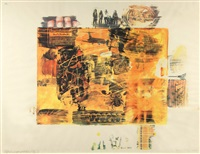 yellow body by robert rauschenberg