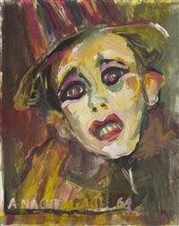 clown head by artur nacht-samborski