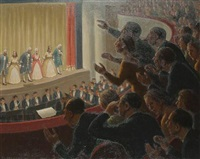 theatre scene by fermin rocker