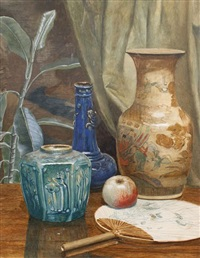 still life (+ another; pair) by edward sherard kennedy