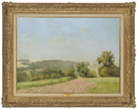 paysage by fernand (just) quignon
