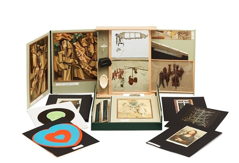 from or by marcel duchamp or rrose sélavy the box in valise set of 67 by marcel duchamp