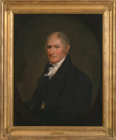 portrait of his father by ezra ames