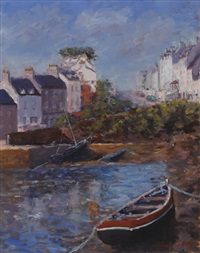 low tide, roundstone by tom scott