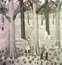 fiskebroderna - pa hemvag genom skogen by bengt olov abrahamsson