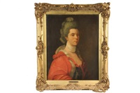 portrait of an aristocratic lady by francis cotes