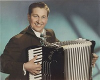 portraits of lawrence welk and others by james j. kriegsmann