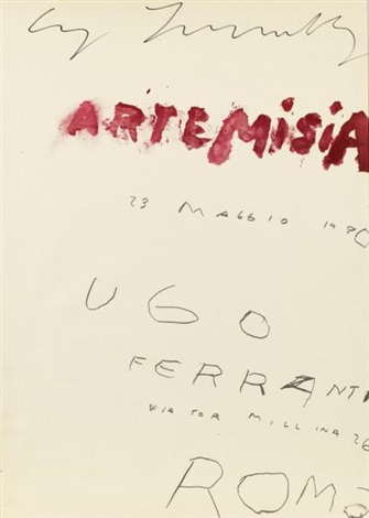 artemisia by cy twombly