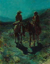 lovers of the desert by frank tenney johnson