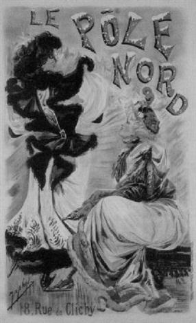le pole nord by alexandre jean louis jazet