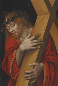 christ carrying the cross by girolamo figino