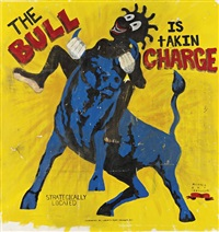 the bull is taking charge by michael ray charles