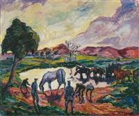 sanitäter mit pferden by otto beyer