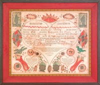 fraktur by johann jacob friedrich krebs