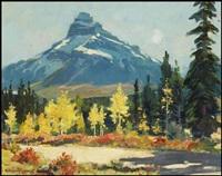 mountain in autumn by richard jack