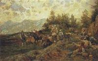 rientro del pascolo by raffaelo armenise