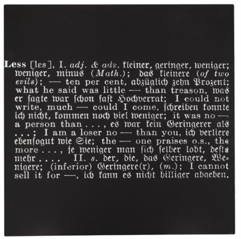 titled art as idea as idea less by joseph kosuth