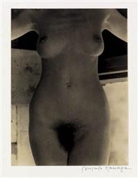 untitled (nude torso) by consuelo kanaga