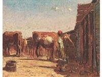 feeding the cattle by adriaan hendrik boshoff