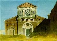 santa maria maggiore, tuscanella by gabriel auguste ancelet