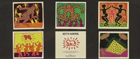 fertility (5 works) by keith haring