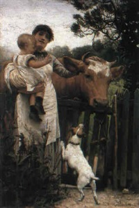 new friends by george percy r. e. jacomb-hood