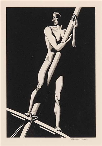 the lookout by rockwell kent