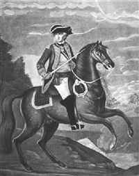 george washington, esqr, general and commander in chief of the continental army in america by alexander campbell