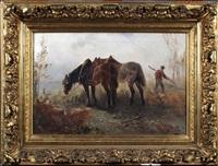 les chevaux de trait by henry schouten