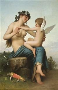 vénus et cupidon by henri pierre picou
