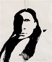 untitled (indian) by fritz scholder
