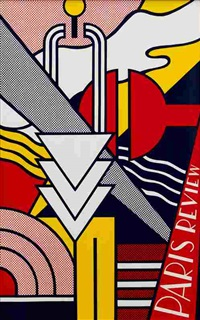 paris review poster by roy lichtenstein
