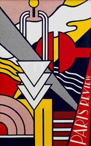 Paris Review Poster by Roy Lichtenstein on artnet