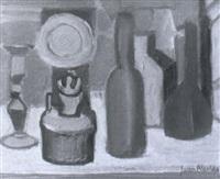 quinqu, y botellas by juan alcalde