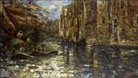 canale veneziano by ermenegildo agazzi