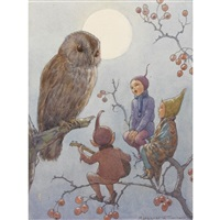 a carol for brown owl by margaret winifred tarrant