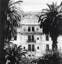 hotel angst (from sprechende häuser) by michaela spiegel