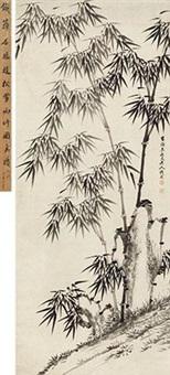 雨竹图 by qian zai