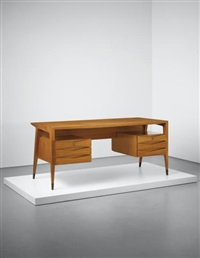 rare desk by gio ponti